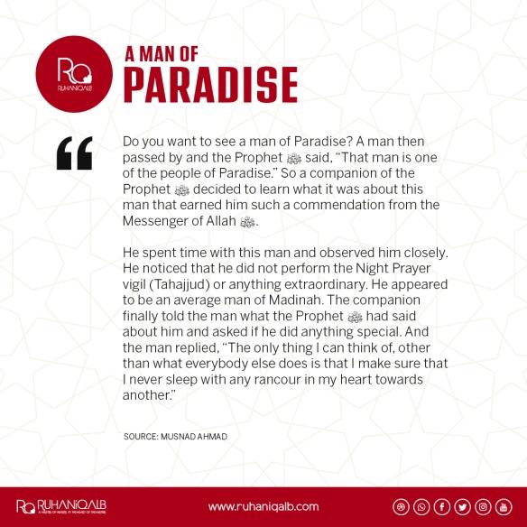 A man of paradise