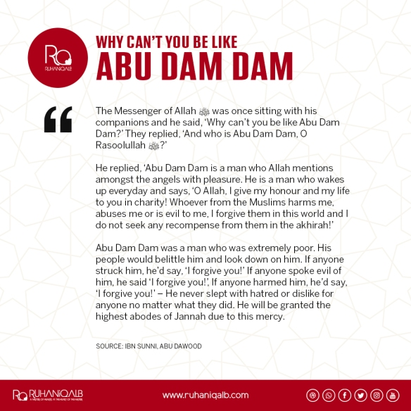 Why can't you be like Abu Dam Dam