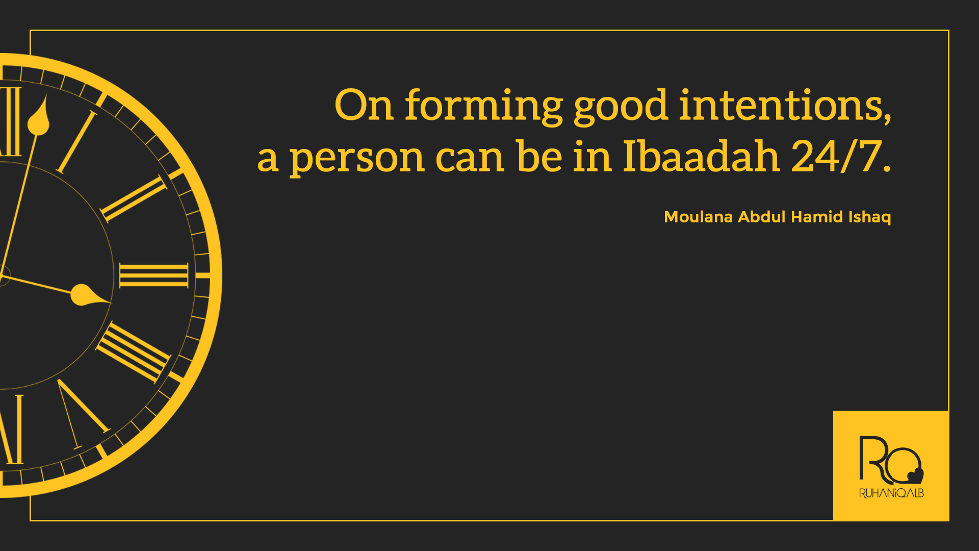 On-forming-good-intentions-a-person-can-be-in-ibadah-247