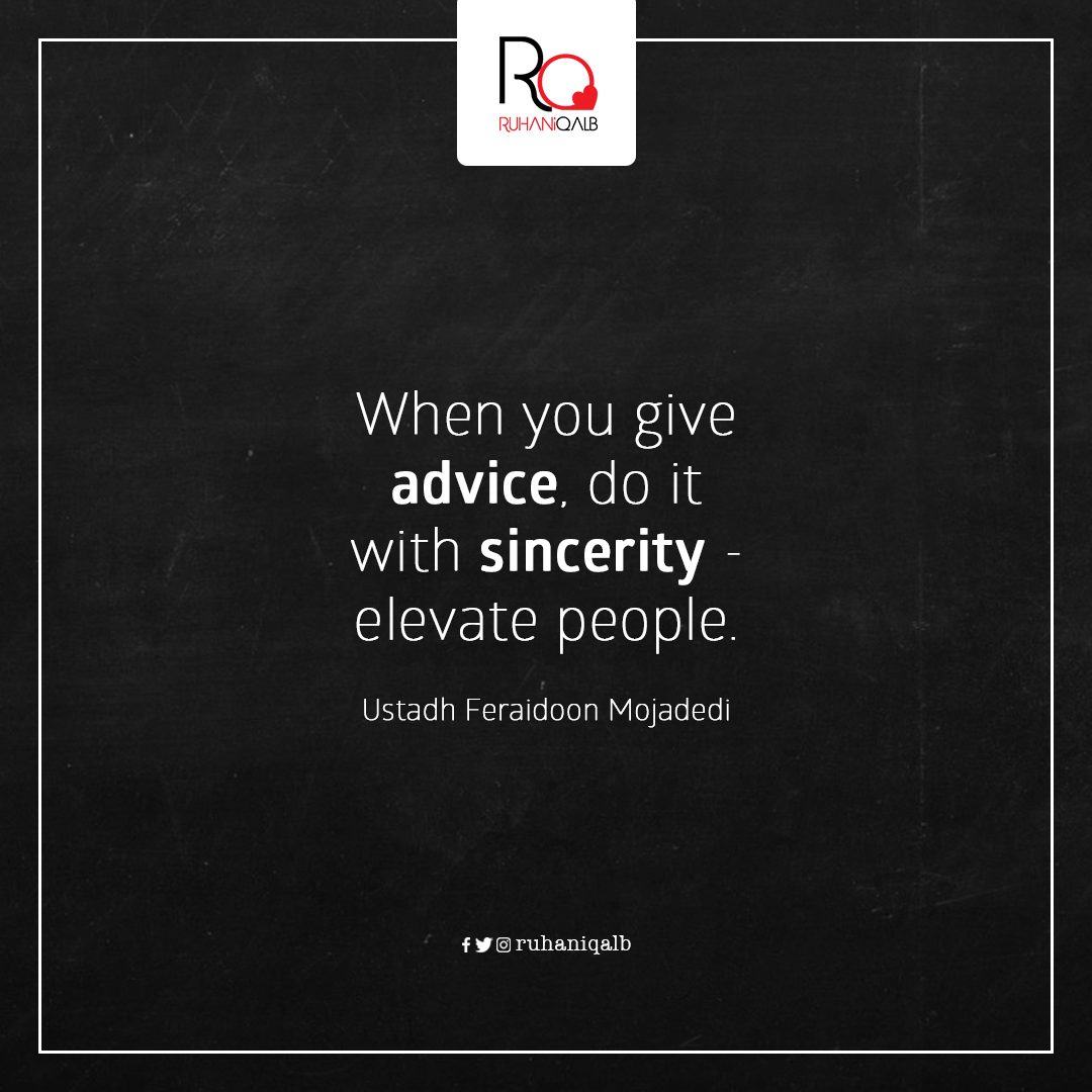 Give-Sincere-Advice