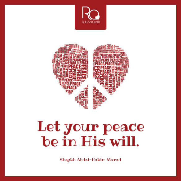 Let-your-peace-be-in-His-will